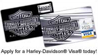 Apply for a Harley-Davidson Visa Today!