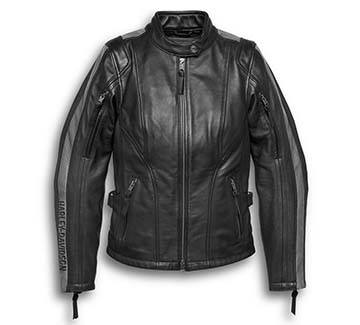Women's Writ Leather Jacket (Front)