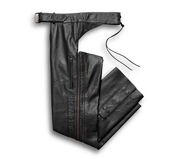 Men's Deluxe Leather Chap