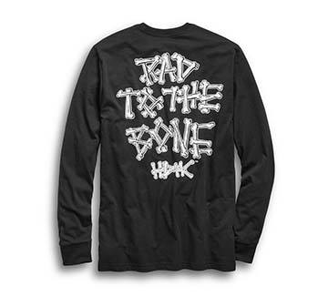 Men's Rad to the Bone Slim Fit Tee (Back)