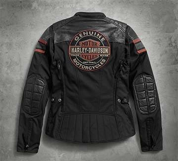 Women's H-D Triple Vent System Worden Riding Jacket